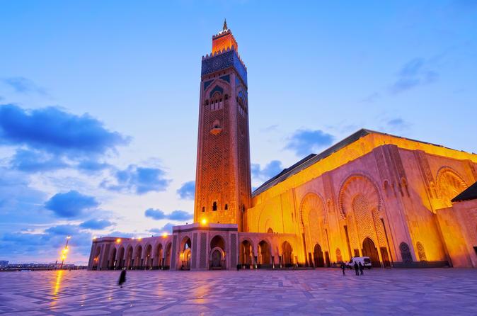 Day 1: NYC (JFK)- Casablanca (CMN)